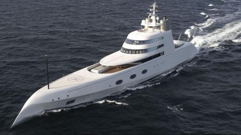 most expensive yacht